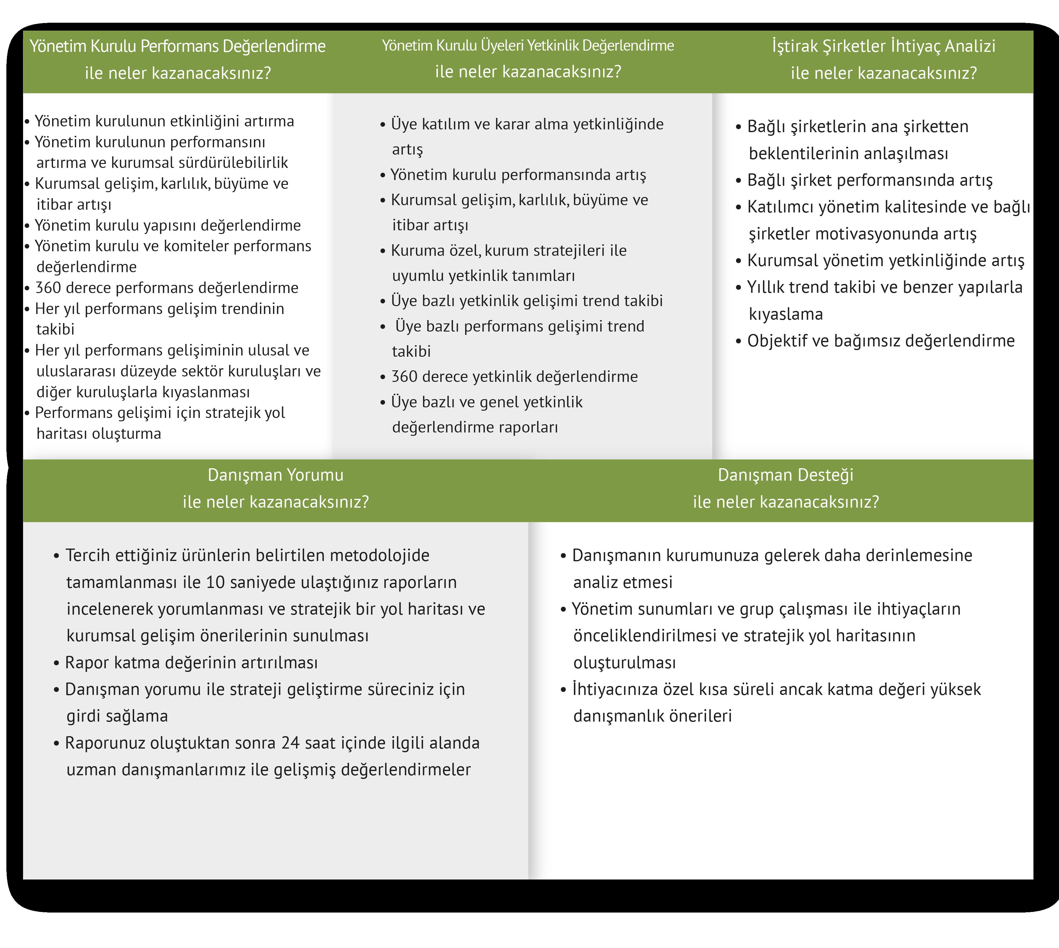 CGE Yönetim Kurulu Değerlendirme Şablonlar